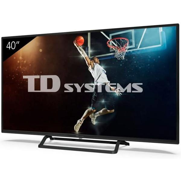Td systems k40dlx11fs televisor 39.5'' lcd direct led fullhd hdmi usb ci+ dolby digital plus