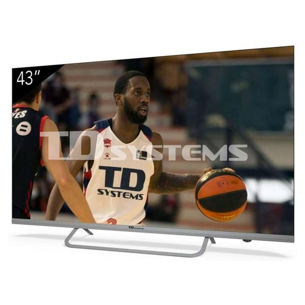 Td systems k43dlx11us televisor 43'' lcd direct led 4k hdmi usb ci+ dolby digital plus