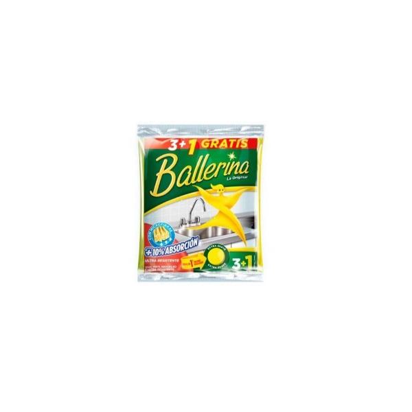 BALLERINA Bayeta 3+1 Gratis