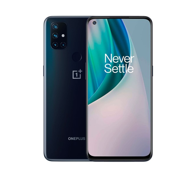 One plus nord n10 midnight ice (gris) 5g, 6gb ram/128gb/6.49'' ips fhd+/octacore