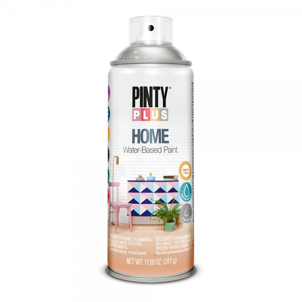 Pintura en spray pintyplus home 520cc barniz brillante hm441